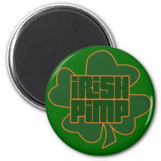 Irish Pimp St. Patty's Day Refrigerator Magnets