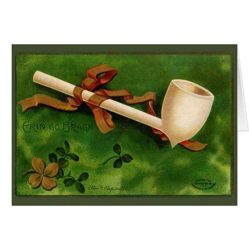 Irish Pipe St. Patrick's Day Greeting Card