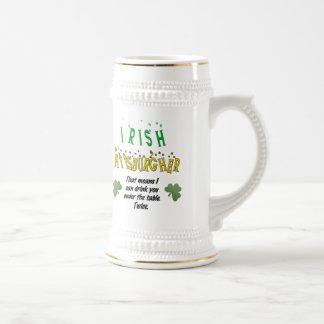 Irish Pittsburgher 18 Oz Beer Stein