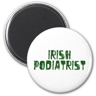 Irish Podiatrist 2 Inch Round Magnet