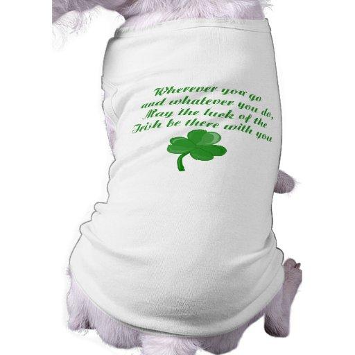 Irish Poem Dog Shirt