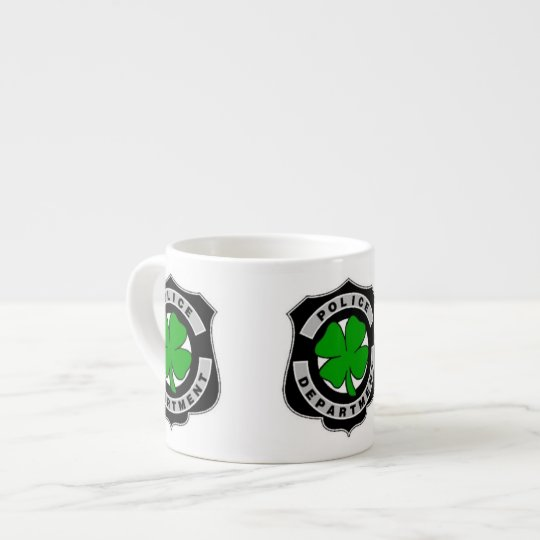 Irish Police Officers Espresso Cup