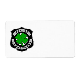 Irish Police Officers Label