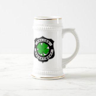 Irish Police Officers Coffee Mugs