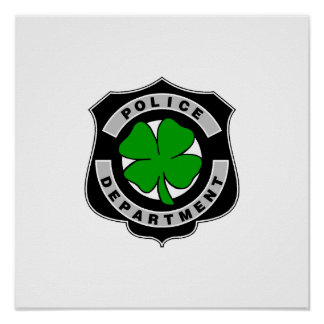 Irish Police Officers Posters