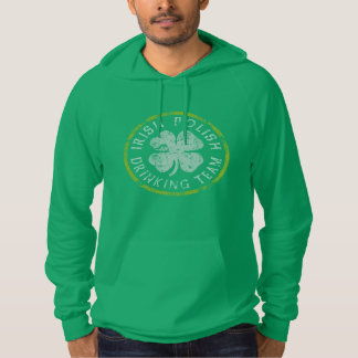 Irish Polish Drinking Team Hoodie