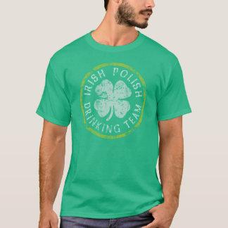 Irish Polish Drinking Team T-Shirt