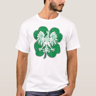 Irish Polish Heritage T Shirt