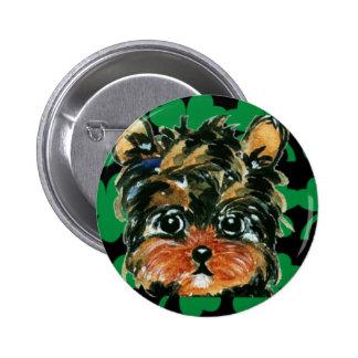 Irish Poo Pinback Buttons