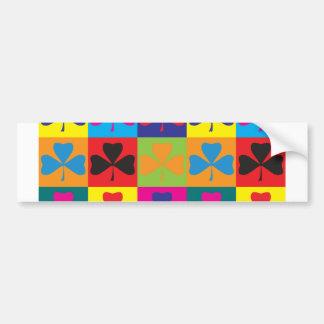 Irish Pop Art Car Bumper Sticker