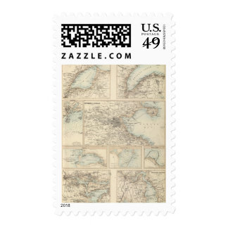 Irish Ports and Harbours Postage Stamp