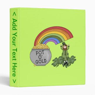Irish Pot of Gold Binder