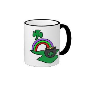 Irish Pot of Gold For St Patricks Day Mug