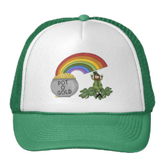 Irish Pot of Gold Trucker Hat