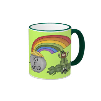 Irish Pot of Gold Mugs
