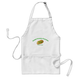 Irish Potato Famine 1845- Never Forget Adult Apron