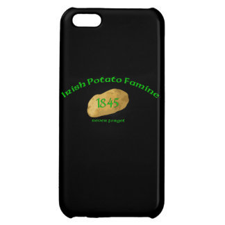 Irish Potato Famine 1845- Never Forget iPhone Case