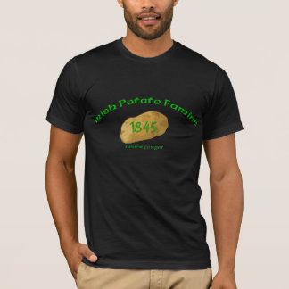 Irish Potato Famine 1845- Never Forget T-Shirt