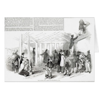 Irish Potato Famine, 1847 Card