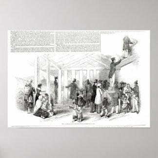 Irish Potato Famine, 1847 Poster