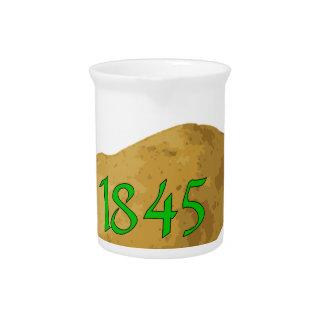 Irish Potato Famine - Never Forget! Beverage Pitcher