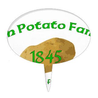Irish Potato Famine - Never Forget! Cake Topper