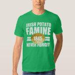 Irish Potato Famine Tee Shirts