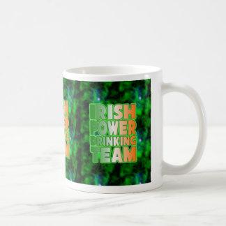 Irish Power Drinking Team. Coffee Mug