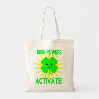Irish Powers Activate Budget Tote Bag