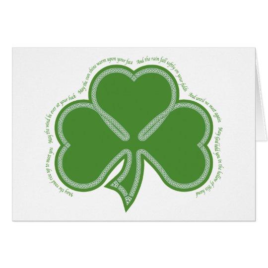 Irish Prayer Card