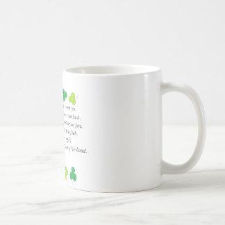 Irish prayer classic white coffee mug