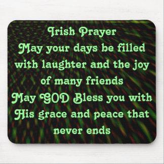 Irish Prayer mousepad