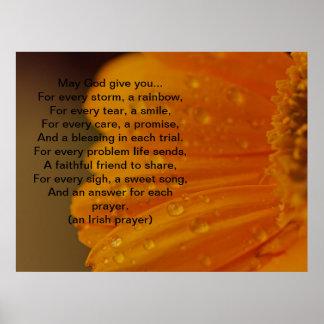 Irish Prayer Print