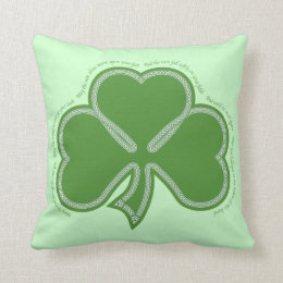 Irish Prayer Throw Pillow