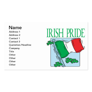 Irish Pride Double-Sided Standard Business Cards (Pack Of 100)