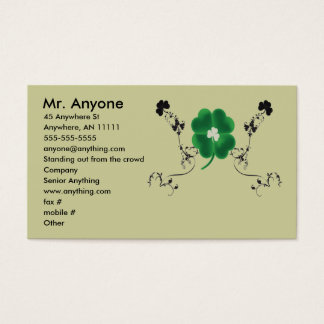 Irish Pride Business Card