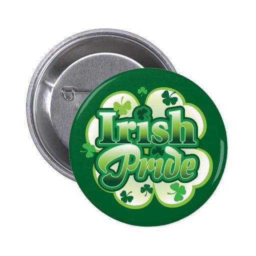 Irish Pride Buttons