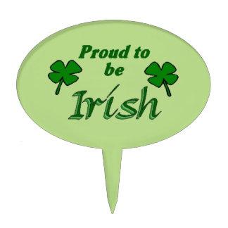 Irish Pride Cake Topper