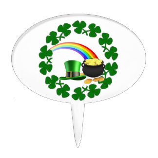 Irish Pride Cake Toppers