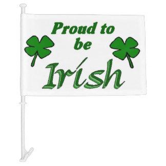 Irish Pride Car Flag