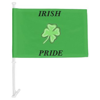 Irish Pride Car Flag