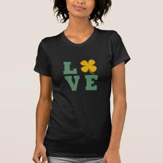 irish pride lucky green gold shamrock t-shirt