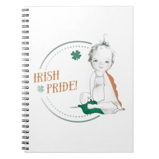 Irish Pride Notebook (Girl)
