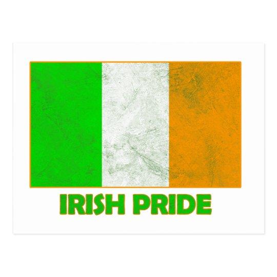 irish pride postcard