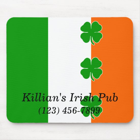 [Irish Pride] Shamrock Flag Mouse Pad