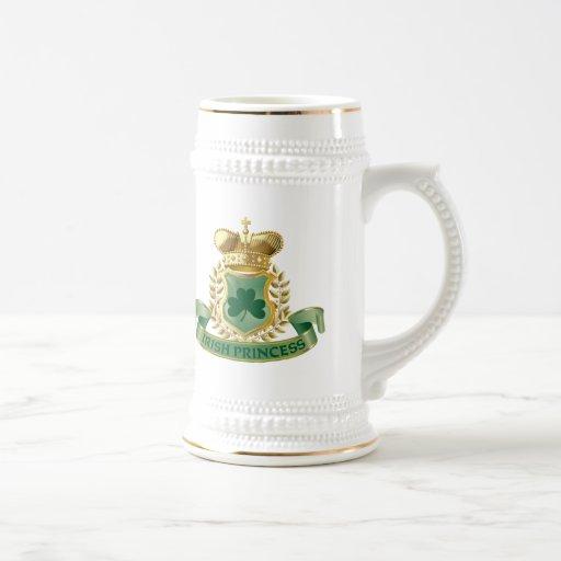 Irish Princess 18 Oz Beer Stein