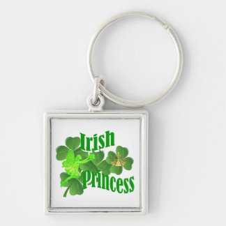 Irish princess and fairy keychain