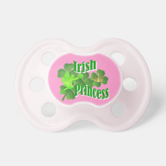 Irish princess and fairy pacifier