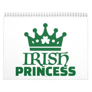 Irish princess calendar