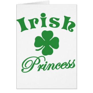 Irish Princess Card